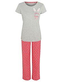 8a6f006b9b Pink Bunny Pyjamas