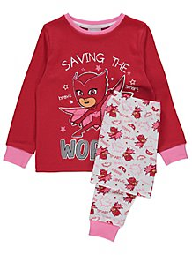 3cd338c716a PJ Mask Owlette Red Pyjamas