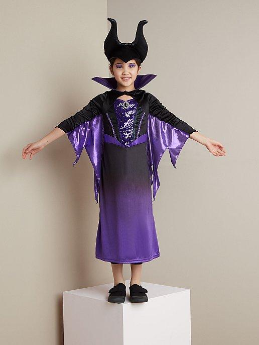 Disney Maleficent Halloween Fancy Dress Costume