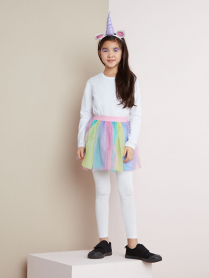 Halloween Unicorn Tutu Fancy Dress Costume