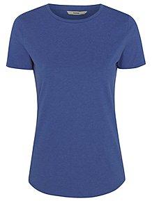 ae71f8c1b5 Blue Crew Neck T-Shirt