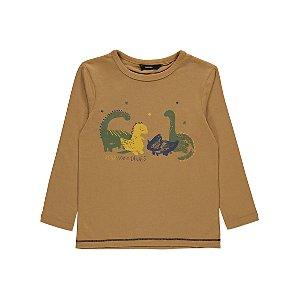 Light Brown Dinosaur Dudes Top