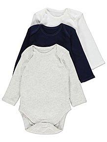 cd791e792 Baby Boys Bodysuits | Baby Clothes | George at ASDA