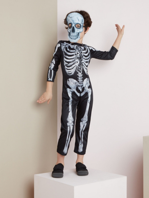Halloween Skeleton Fancy Dress Costume