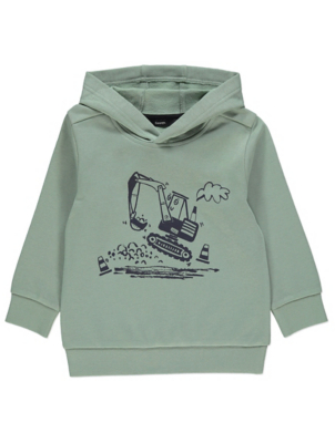 Green Digger Graphic Hoodie