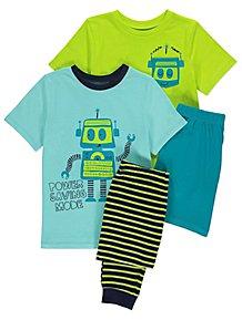 a45eb0852 Robot Pyjamas 2 Pack