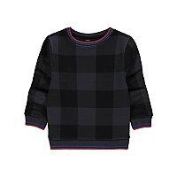 charcoal-check-sweatshirt by asda