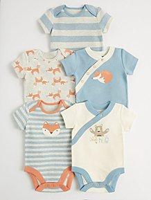 857c7c561adb6 Girls Baby Bodysuits | Girls Bodysuits | George at ASDA
