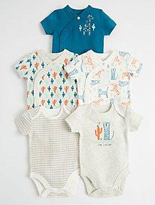 7ad7789bd Girls Baby Bodysuits   Girls Bodysuits   George at ASDA