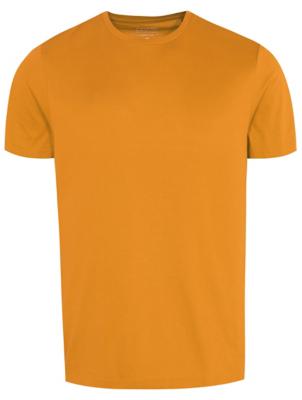 Mustard Crew Neck T-Shirt