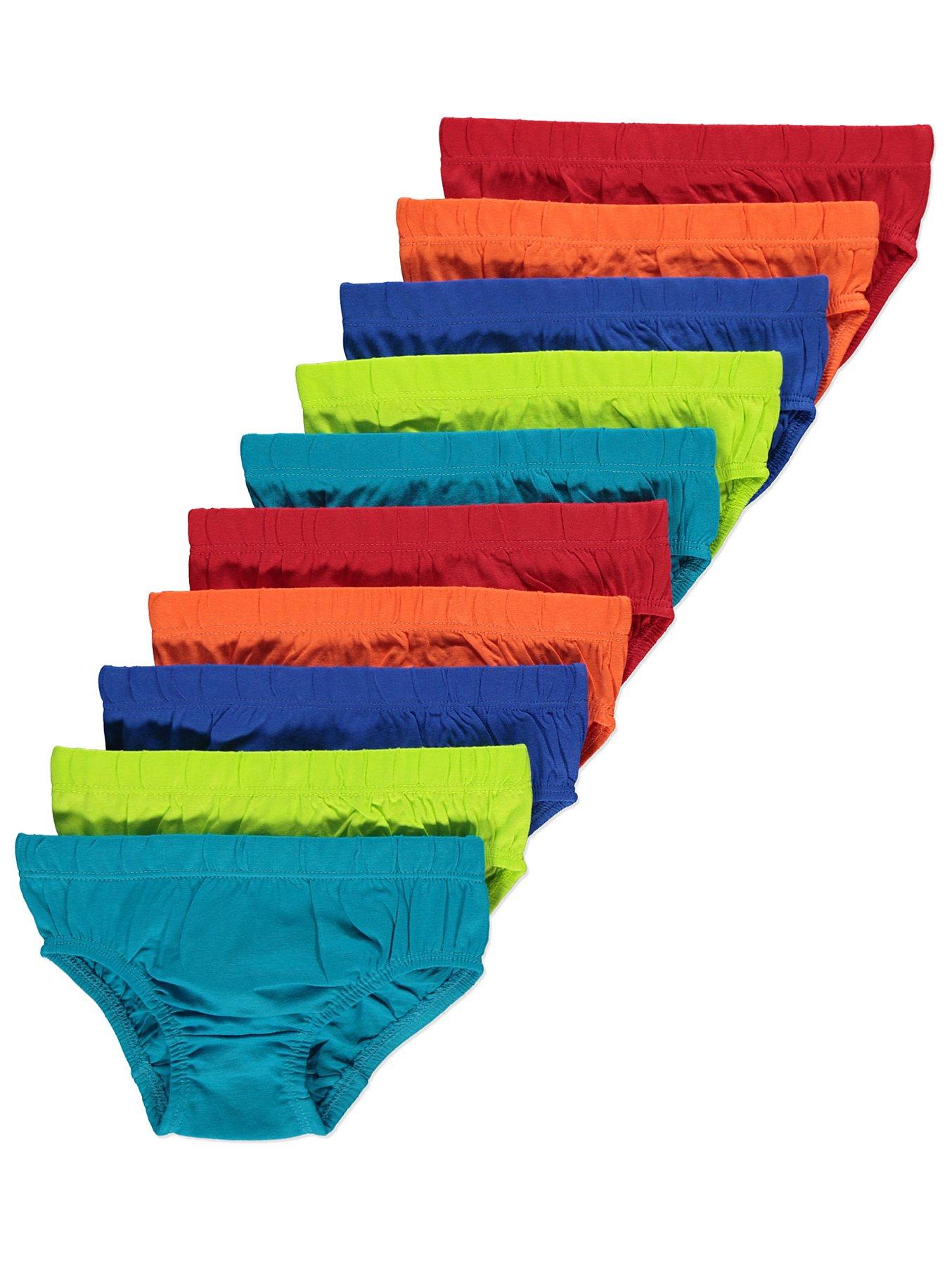 Essentials Boys 10-Pack Underwear Brief