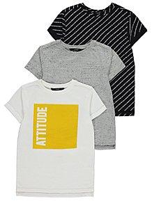 49bd21b1 Tops & T-Shirts | Boys 4-14 Years | Kids | George at ASDA