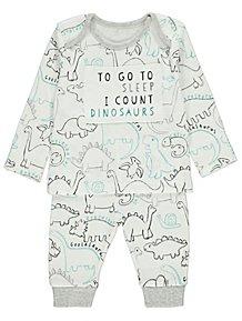 Baby Boys Sleepsuits & Pyjamas | George at ASDA
