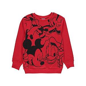 Disney Mickey Mouse & Friends Red Sweatshirt