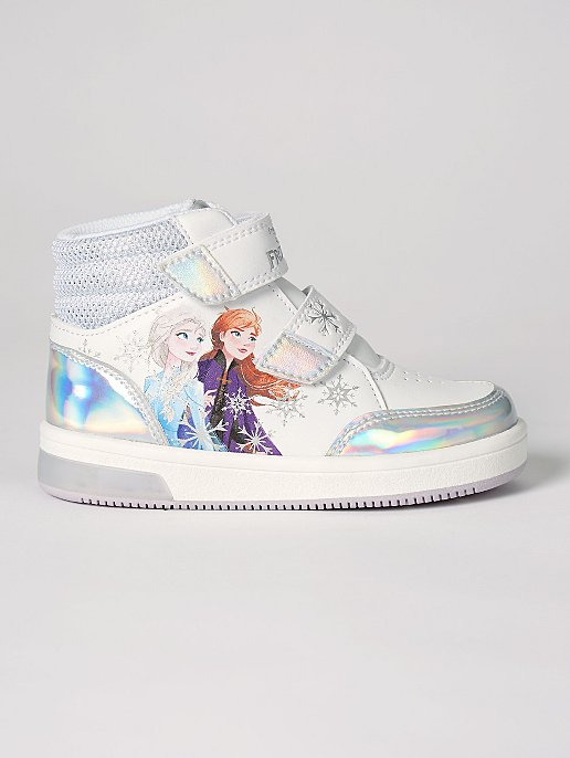 Light Up Blue//white Size 10 Disney Frozen Sneaker Toddler Girl/'s Shoes