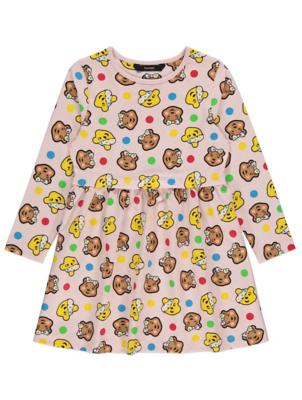 Children in Need Pink Blush Print Jersey Dress