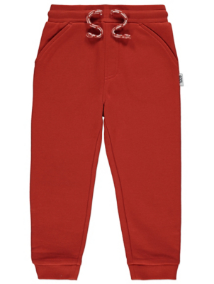 Burnt Orange Jogging Bottoms