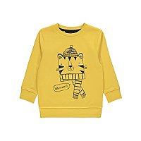 Yellow Tiger Print Sweatshirt by Asda