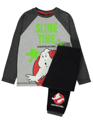 Ghostbusters Grey Slime Time Pyjamas