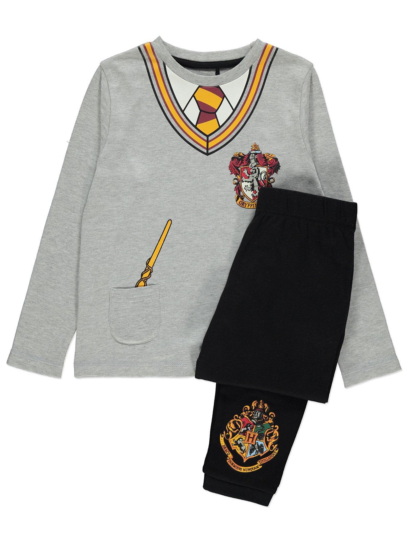 disfruta del precio inferior seleccione para auténtico extremadamente único Harry Potter Gryffindor Grey Pyjamas