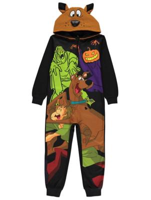 WB Scooby Doo Fleece Hooded Onesie