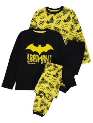 DC Comics Batman Short Sleeve Pyjamas 2 Pack