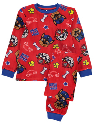 PAW Patrol Red Fleece Pyjamas