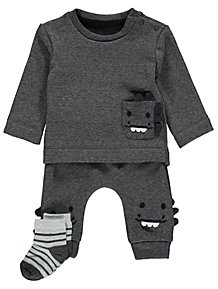 3b6a87706 Boys Baby Outfits | Baby Clothes | George at ASDA