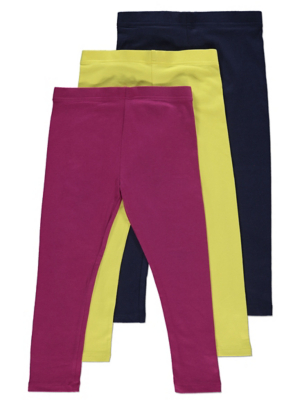 Assorted Leggings 3 Pack
