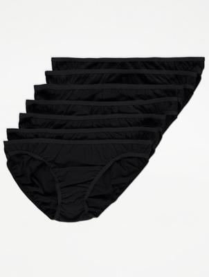 Black Mini Briefs 7 Pack