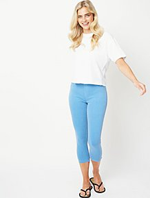 f3a4b273e0f9 Womens Cropped Trousers | Trousers | George at ASDA