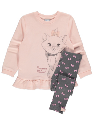 Disney The Aristocats Marie Sweatshirt and Leggings Outfit
