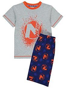 e928efcfb NERF Grey Short Pyjamas