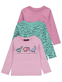 f764a2691ef7 Girls' Tops & T-Shirts | Kids | George at ASDA