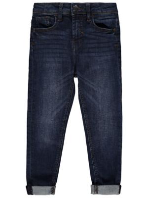 Dark Wash Denim Skinny Jeans