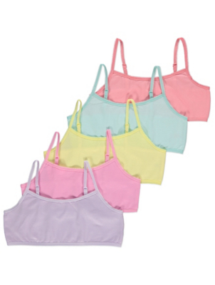 Colourful Crop Tops 5 Pack