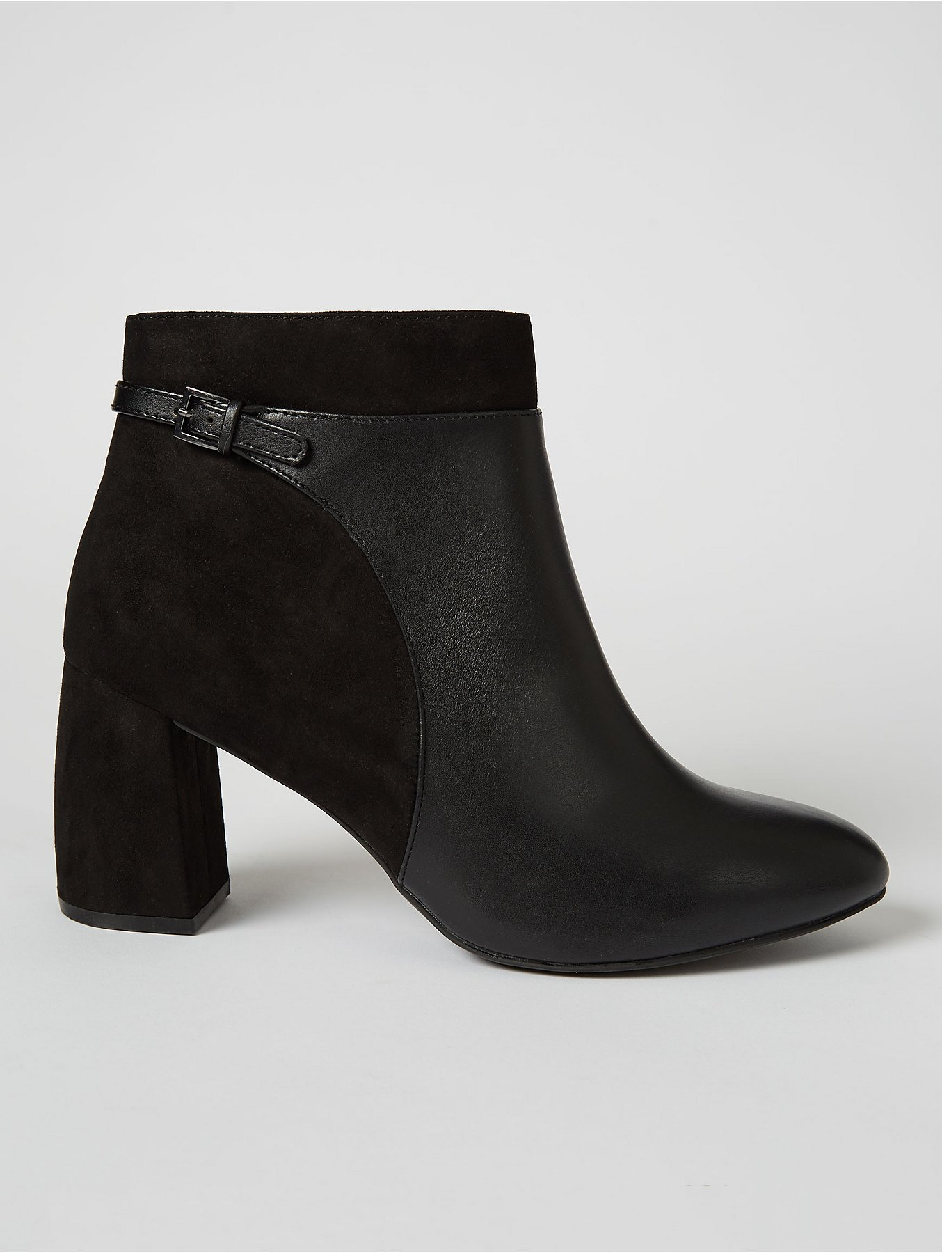 hot new products uk availability the best attitude Wide Fit Black Suede Effect Ankle Boots | Women | George