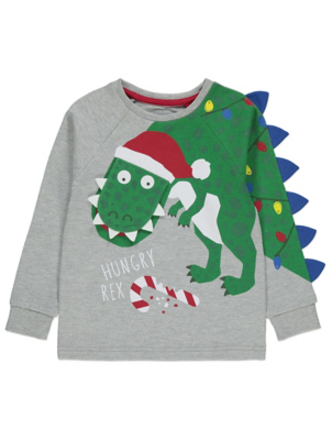 Grey Hungry Rex Lift Flap Top