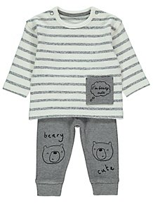 f5af5ef71558 Boys Baby Outfits | Baby Clothes | George at ASDA