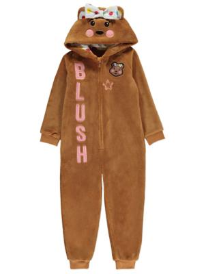 Children in Need Fleece Blush Onesie