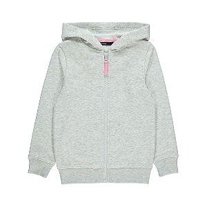 Grey Zip Up Hoodie