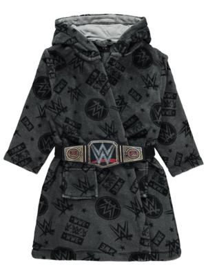 WWE Grey Title Belt Dressing Gown