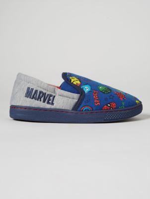 Marvel Avengers Print Fullback Slippers
