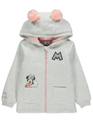 Disney Minnie Mouse Sequin Logo Hoodie