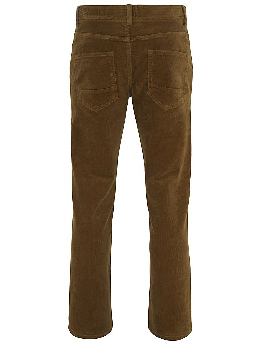 best deals on classic attractive style Brown Corduroy Trousers