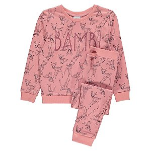Disney Bambi Sweatshirt and Joggers Outfit
