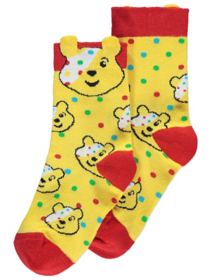 Children in Need Pudsey Ankle Socks