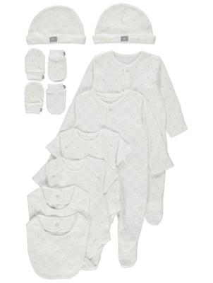 White Star Print 10 Piece Starter Pack