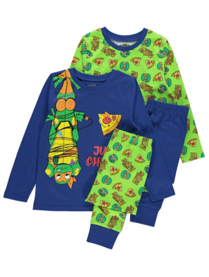 Teenage Mutant Ninja Turtles Pyjamas 2 Pack