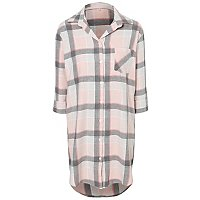 Pink Check Shimmering Nightdress by Asda